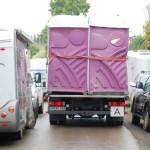 Vermehrtes Parkaufkommen auf den Seitenstreifen